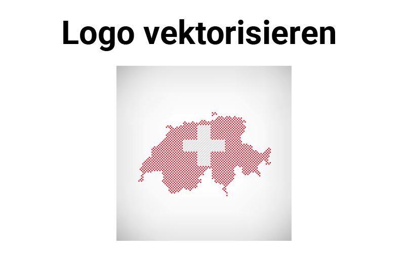 Logo vektorisieren Schweiz