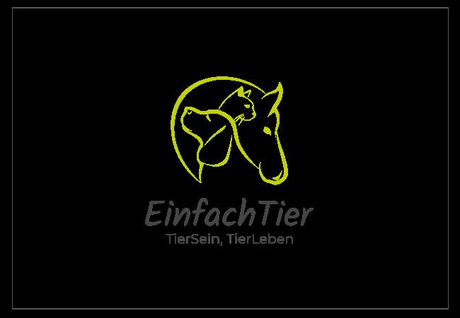 Einfach Tier Logo Design