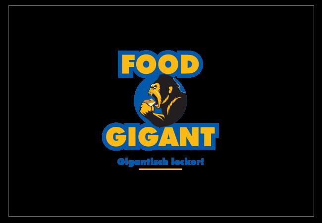 Food Gigant Logo Design