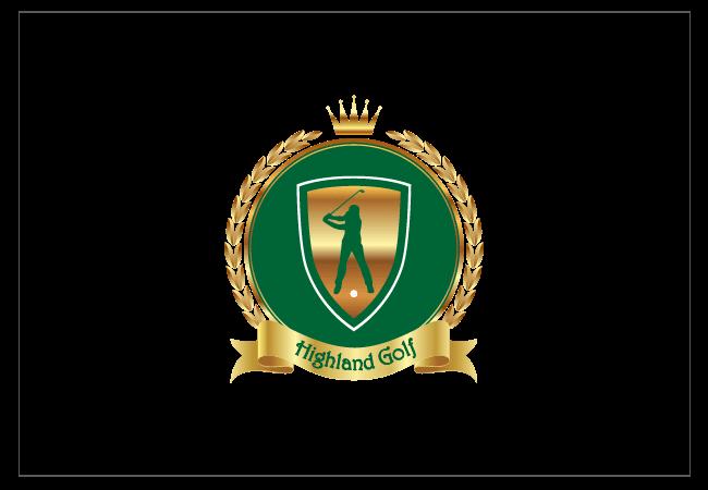 Highland Golf Logo Design