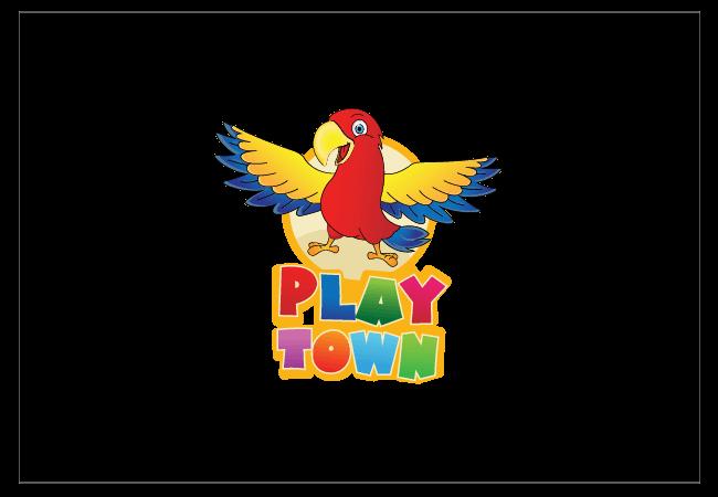 PlayTown Logo Design