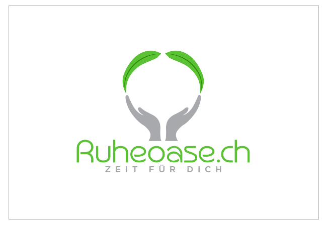 Ruheoase Logo Design