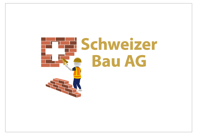 Schweizer Bau Logo Design